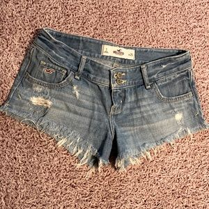 Juniors Hollister jean shorts - size one!